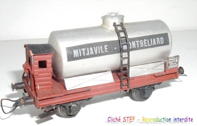 Wagons à 2 ess maquette citernes, foudres 120611030424878979970802