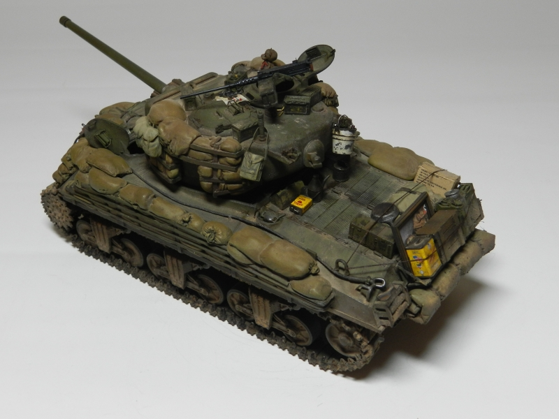SHERMAN M4A3 (76)W 3 ARMORED DIVISION  ( 2 ÈME VERSION) 1206120718111506389976294