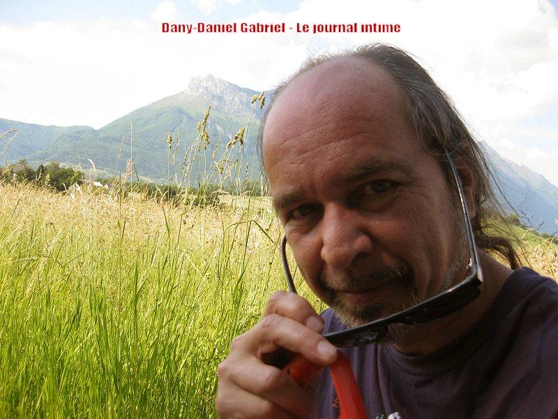 dany daniel gabriel en campagne en savoie dans les alpes