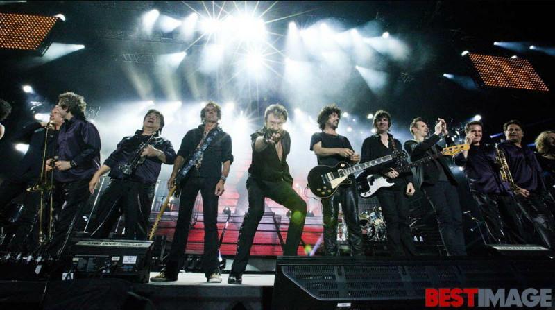 "Set list ""TOUR 2012"" JOHNNY HALLYDAY 24/04/2012 Orpheum Theatre (Los Angeles) 1206160134011423619988706"