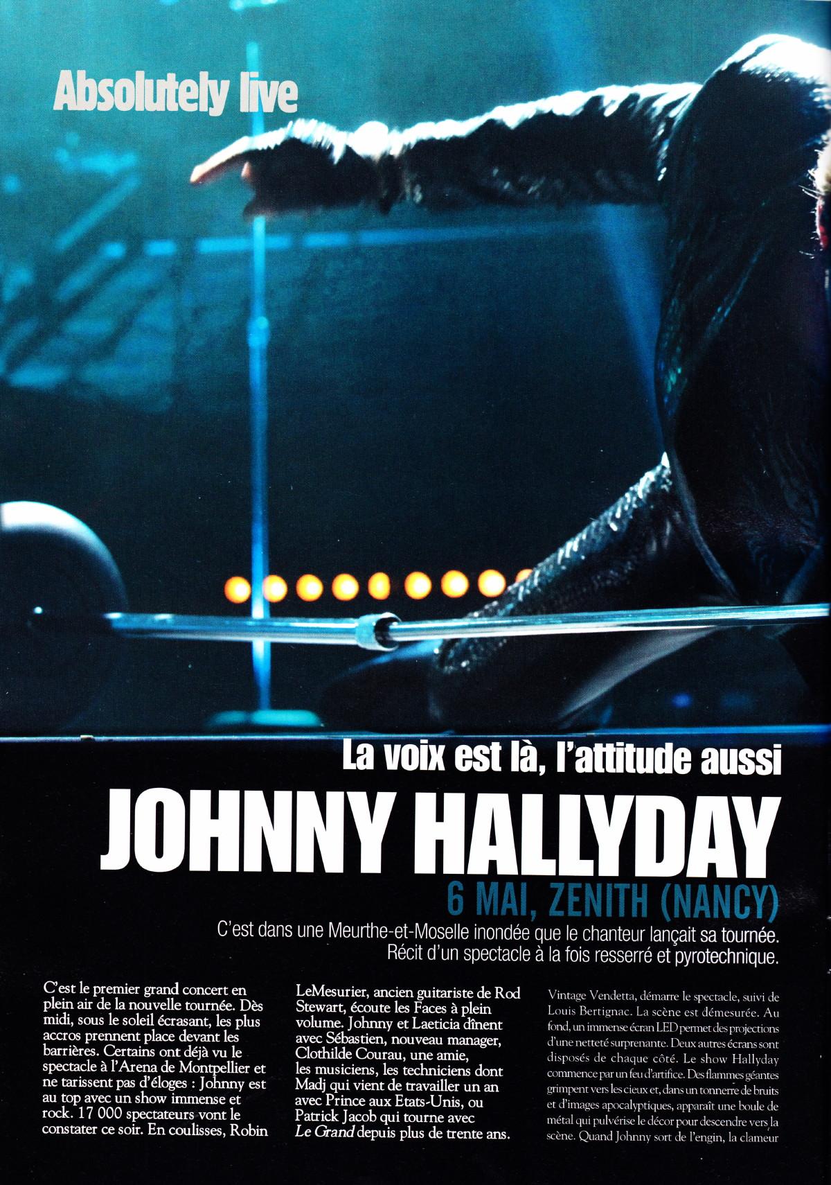"""Le """"TOUR 2012"""" par JEAN-WILLIAM THOURY dans """"ROCK&FOLK"""" (juillet 2012) 1206180727401423619999586"""