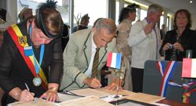 Jumelages tussen Vlaamse gemeenten van Frankrijk en van België 12062302435614196110017962