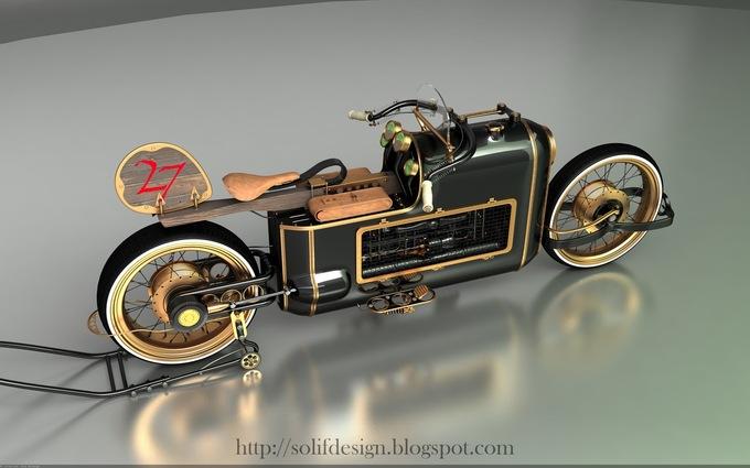 Steampunk bike ...   12062409005214438510020543