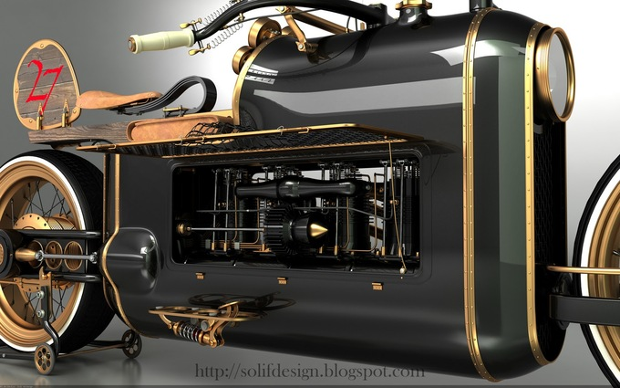 Steampunk bike ...   12062409010414438510020544