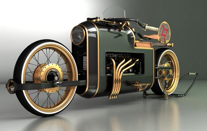 Steampunk bike ...   12062409011314438510020545