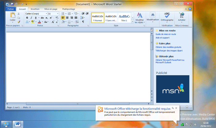 microsoft word starter download