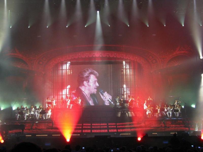 "Set list ""TOUR 2012"" JOHNNY HALLYDAY 24/04/2012 Orpheum Theatre (Los Angeles) 12070101043514236110049459"