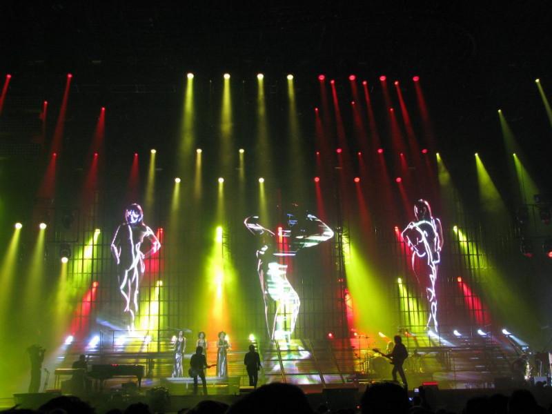 "Set list ""TOUR 2012"" JOHNNY HALLYDAY 24/04/2012 Orpheum Theatre (Los Angeles) 12070101043714236110049466"