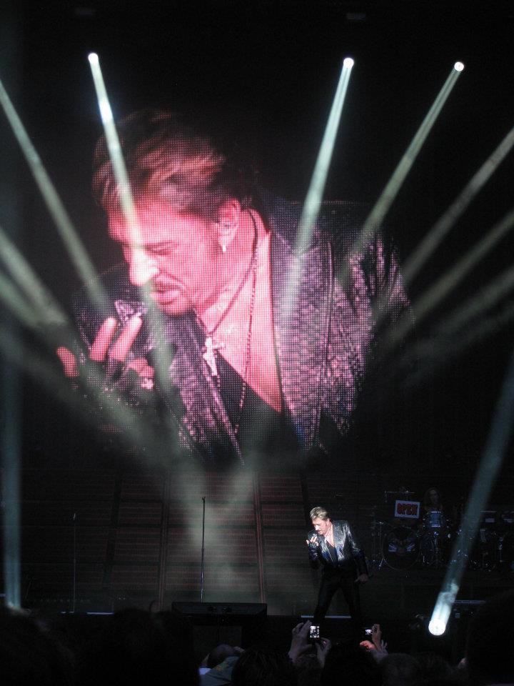 "Set list ""TOUR 2012"" JOHNNY HALLYDAY 24/04/2012 Orpheum Theatre (Los Angeles) 12070101085014236110049479"