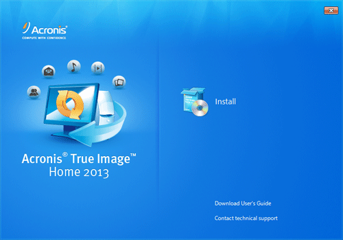 Acronis True Image 2013 [FR] [Multi]