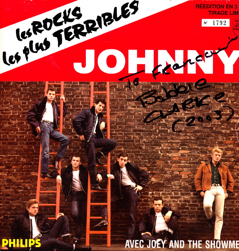 "JOEY & THE SHOWMEN, le groupe des ""ROCKS LES PLUS TERRIBLES"" (1964) de JOHNNY HALLYDAY 12070809224914236110077345"