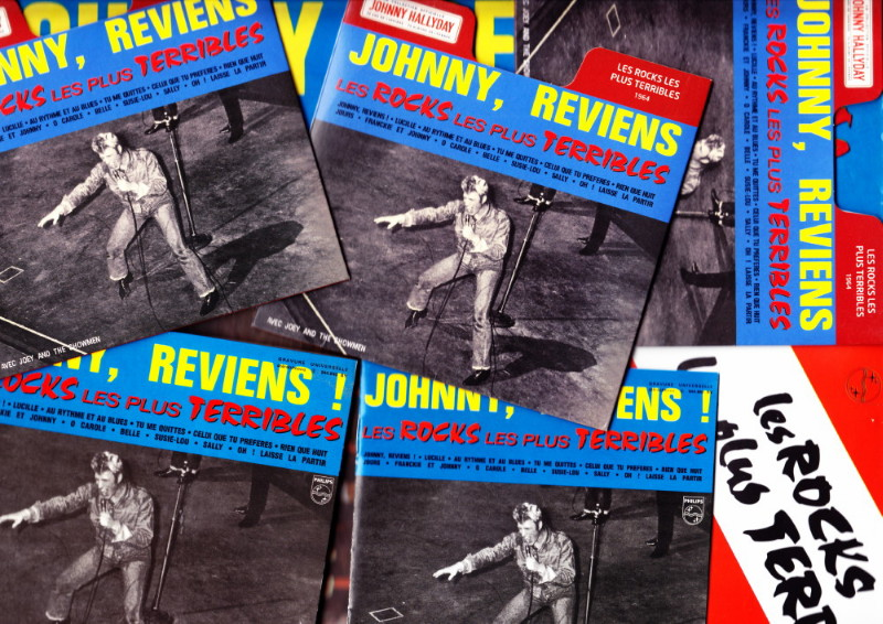 "JOEY & THE SHOWMEN, le groupe des ""ROCKS LES PLUS TERRIBLES"" (1964) de JOHNNY HALLYDAY 12070809224914236110077346"