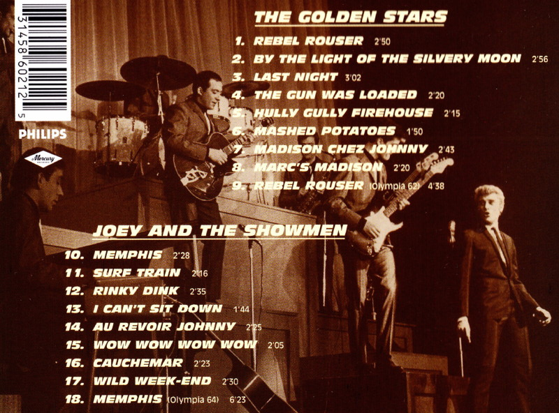"JOEY & THE SHOWMEN, le groupe des ""ROCKS LES PLUS TERRIBLES"" (1964) de JOHNNY HALLYDAY 12070809224914236110077348"
