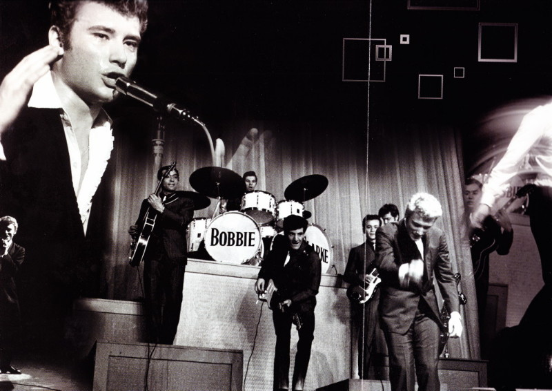 "JOEY & THE SHOWMEN, le groupe des ""ROCKS LES PLUS TERRIBLES"" (1964) de JOHNNY HALLYDAY 12070809224914236110077349"