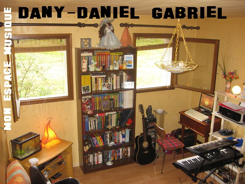 dany daniel gabriel studio espace musique