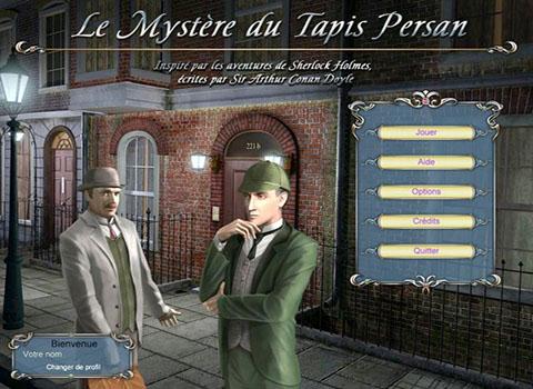 Sherlock Holmes Le Mystère du Tapis Persan + Guide de stratégie [FR] [Multi]