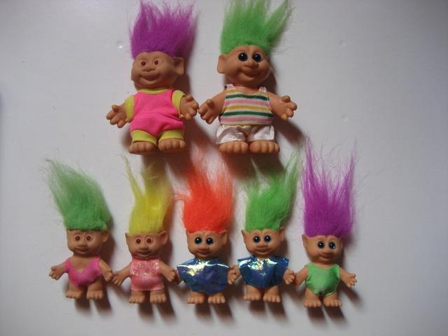 Série Lucky trolls par ITB 12071801083615254110117442