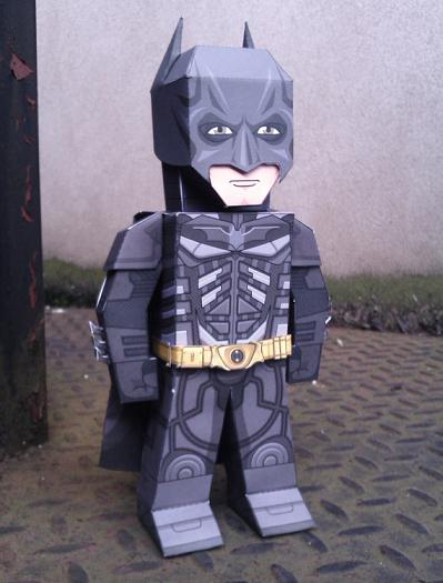 Batman version papertoy dans Fantastique 12072008111215263610123484