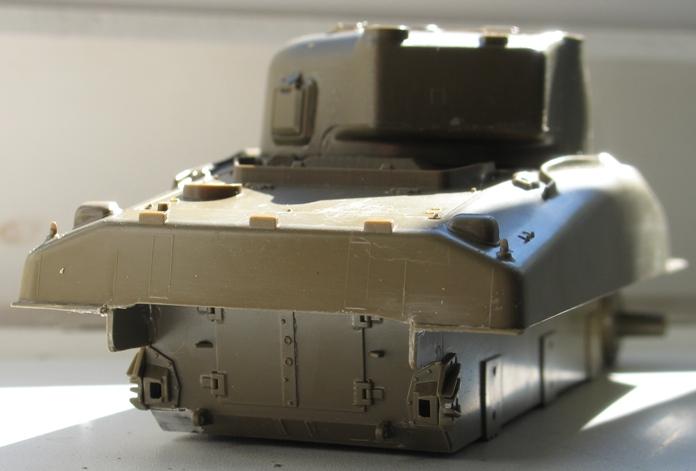 sherman M4A1(75) Italeri 1/35 1207230739316670110135687
