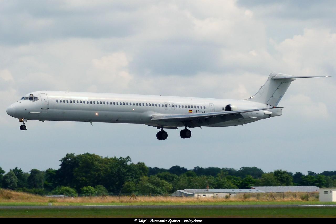 [20/07/2012] McDonnell Douglas MD-83 (EC-JUG) Swiftair 12073012023515267110156868