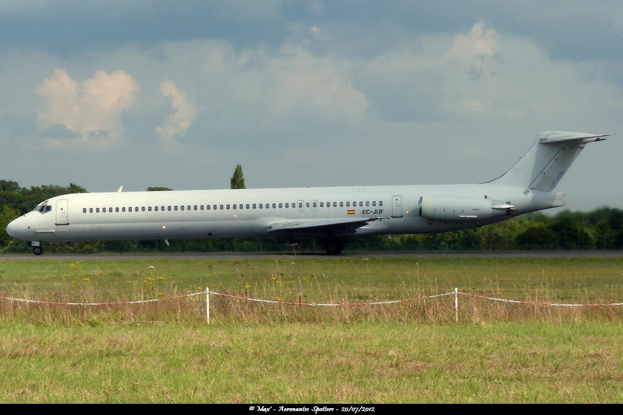 [20/07/2012] McDonnell Douglas MD-83 (EC-JUG) Swiftair 12073012023515267110156869