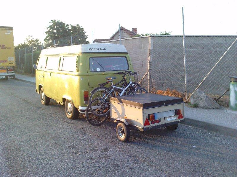 Wwwtraficamenagecomforum Voir Le Sujet Projet Remorque - Porte vélo caravane sur flèche