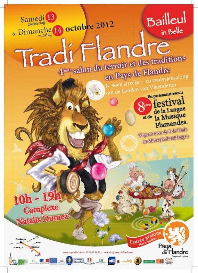 13-14 oktober 2012 : Tradi Flandre & Taele en Muuzyke Feestdaegen in Belle 12080112442214196110165174