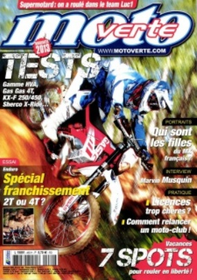 Moto Verte N°460 Août 2012  ET  le N°459 de juillet 2012 [PDF l MULTI]