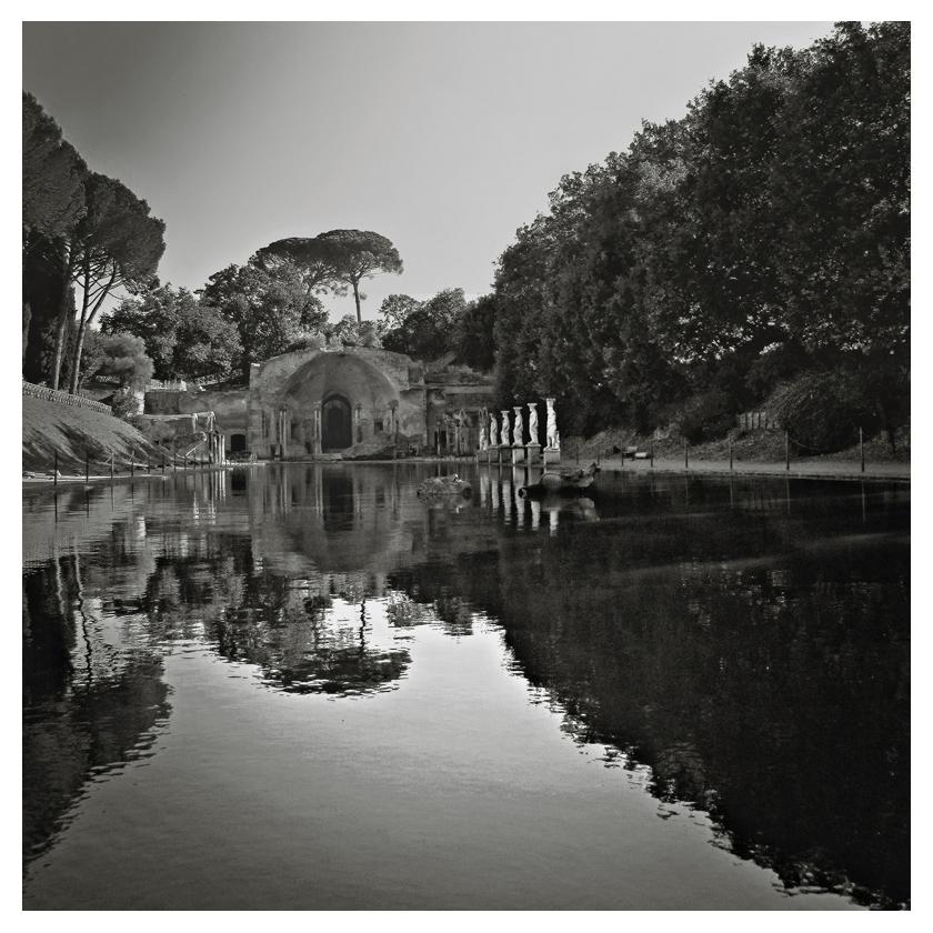 villa Hadrien Rome bassin du canope 12080505475715174610179329
