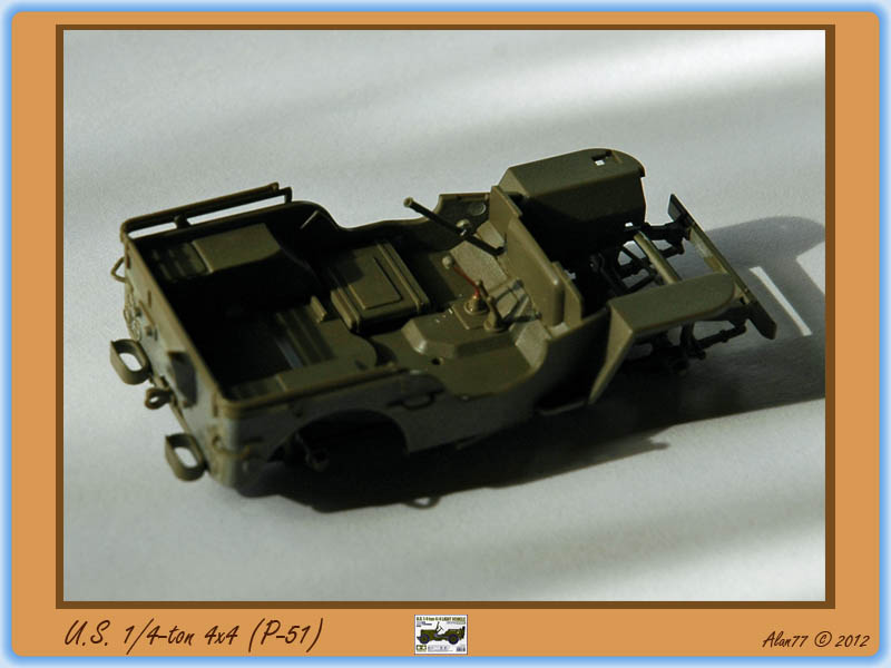 [TAMIYA] U.S. 1/4-ton 4x4 Light Vehicle 1/48 1208051017205585010180688