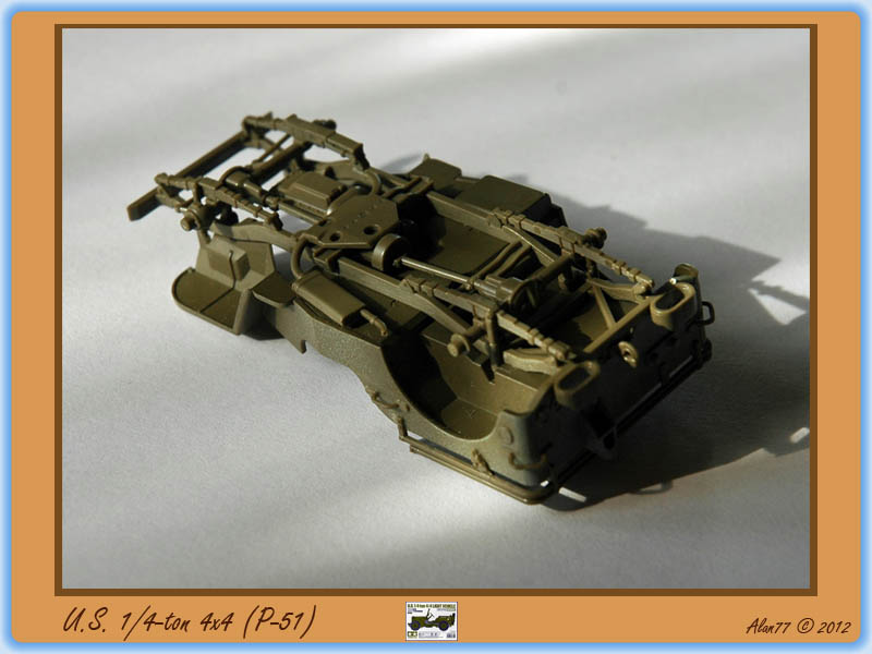 [TAMIYA] U.S. 1/4-ton 4x4 Light Vehicle 1/48 1208051017595585010180690