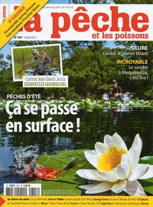 La Peche et les Poissons numero 807    Aout 2012 [PDF l MULTI]