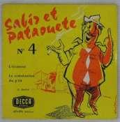 BEDOS JACQUES - Sabir et Pataouète N° 4 - 45T (EP 4 titres)