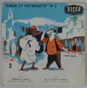 BEDOS JACQUES - Sabir et Pataouète N° 2 - 45T (EP 4 titres)