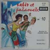 BEDOS JACQUES - Sabir et Pataouète N° 10 - 45T (EP 4 titres)