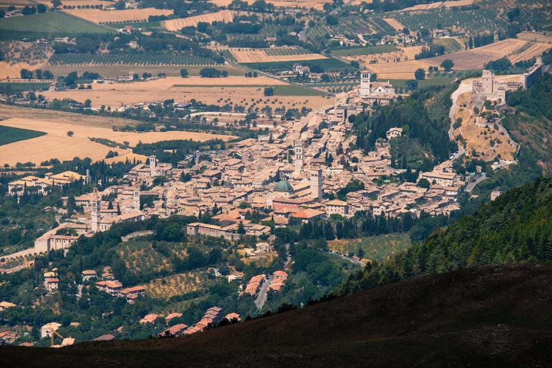 Les pèlerins du Mont Subasio 12081303073914335310204895