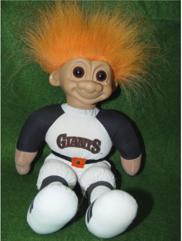 Trolls Russ, série supporters NFL et Base ball Ligue américaine 12081406063115254110210310