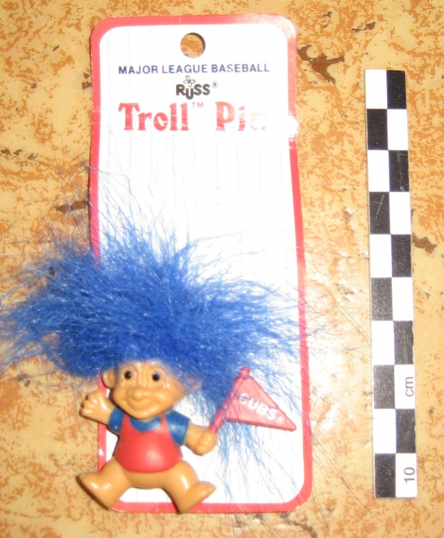 Trolls Russ, série supporters NFL et Base ball Ligue américaine 12081406093215254110210337