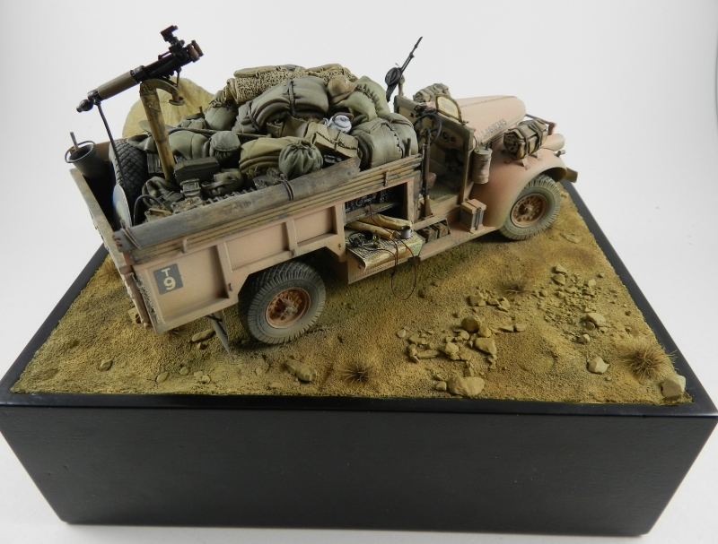 UN PETIT COIN DE DESERT : LRDG LYBIE 1942 ( DIO TERMINE). 12081406524715063810210480