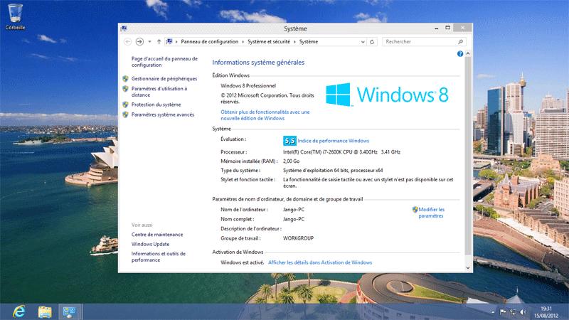 windows 8 rtm build 9200 en t 233 l 233 chargement sur msdn technet l actualit 233 de microsoft et ses