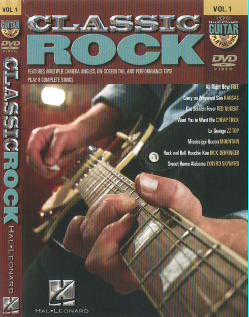 12082107283513799910232194 [Guitare] Guitar Play Along Vol. 01   Classic Rock   DVD   iso