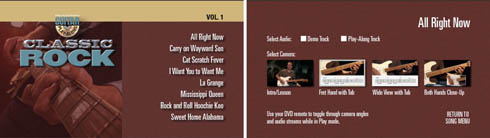 12082402253013799910240172 [Guitare] Guitar Play Along Vol. 01   Classic Rock   DVD   iso