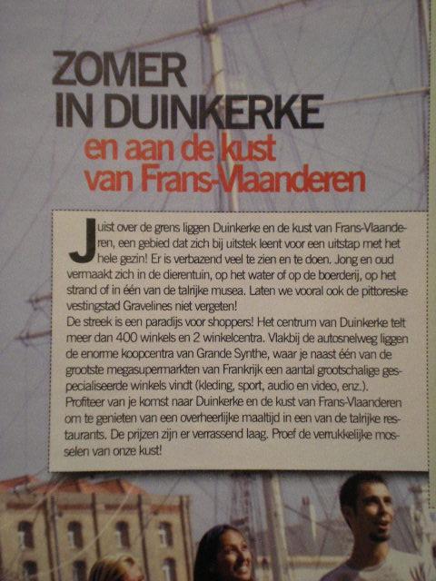 """""""Honderd procent goede ideeën Duinkerke Frans-Vlaanderen"""" 12082410041314196110241688"""