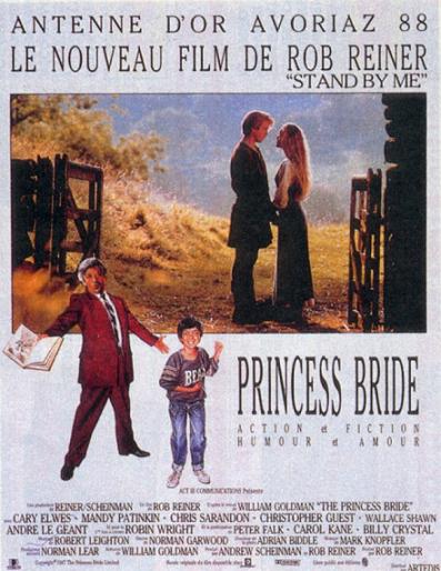 RETOUR VERS LES 80's : PRINCESS BRIDE (1987) dans Cinéma 12082508584415263610242467