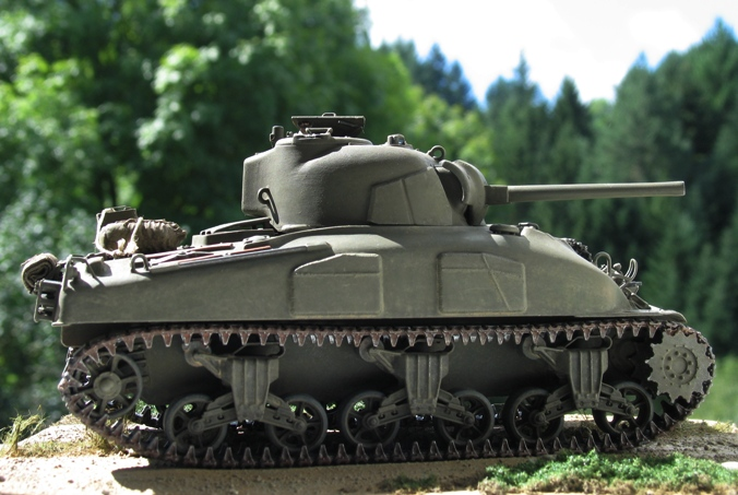 Sherman M4A1(75) Italeri 1/35 1208260147096670110247294