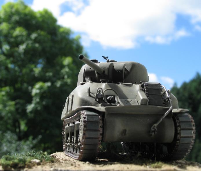 Sherman M4A1(75) Italeri 1/35 1208260147416670110247296