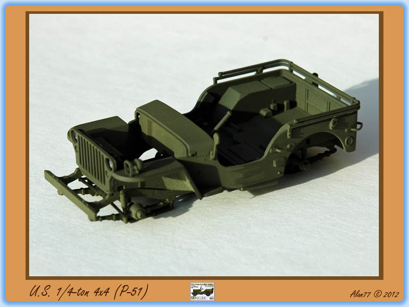 [TAMIYA] U.S. 1/4-ton 4x4 Light Vehicle 1/48 1208270943395585010253019