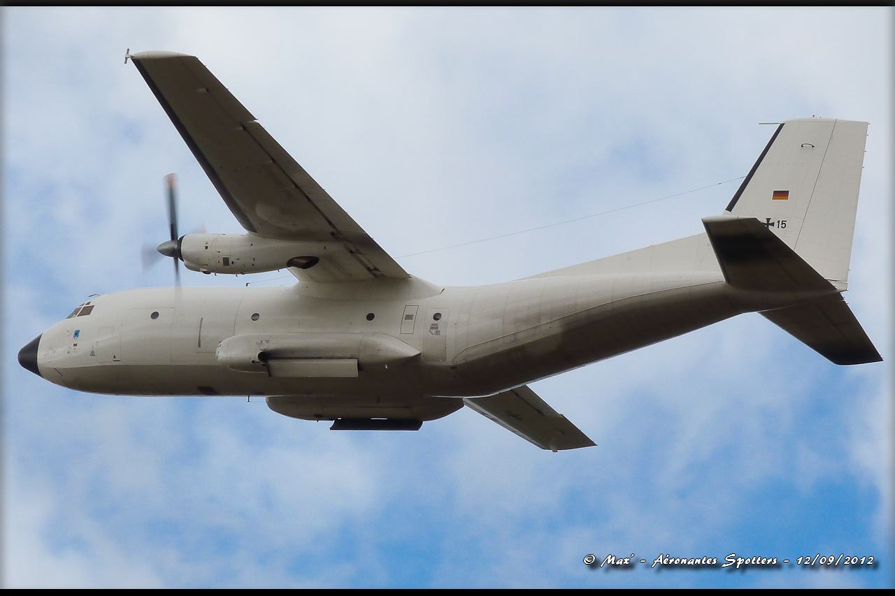 "[12/09/2012] Transall C160 (51+15) German Air Force : livrée ""Albinos"" 12091208294815267110311737"