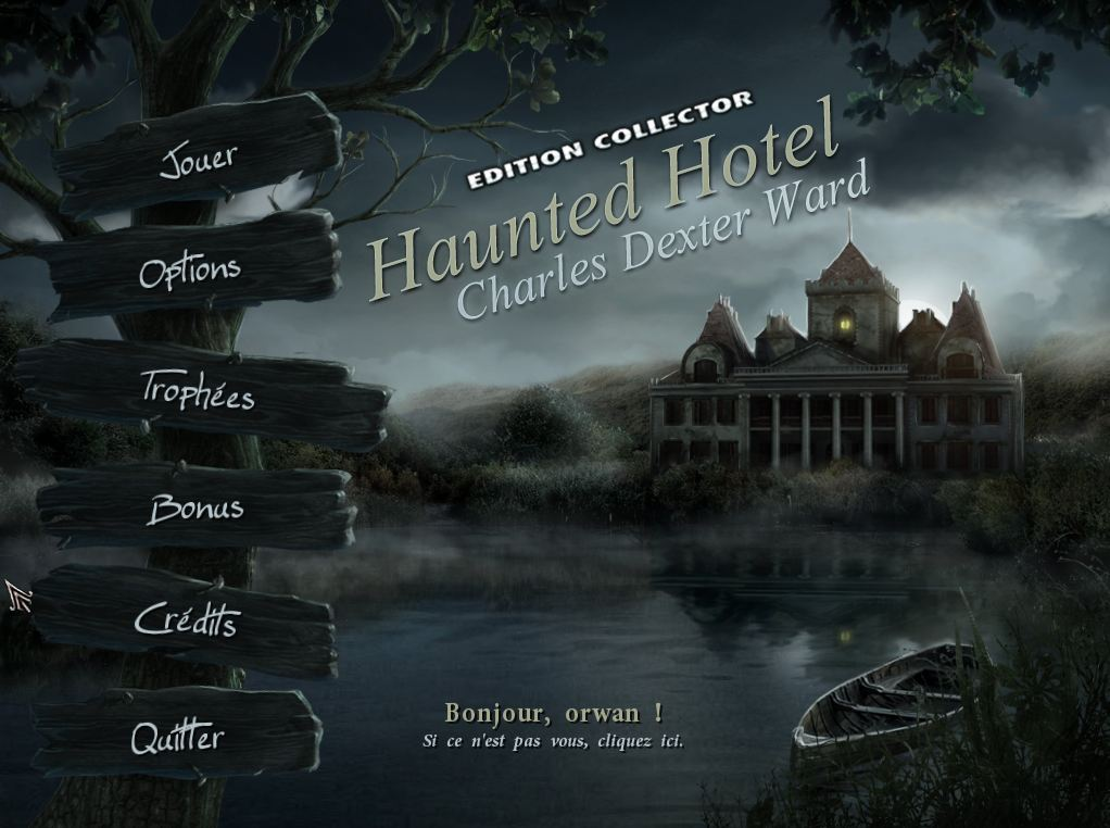 Haunted Hotel IV Charles Dexter Ward Edition Collector FRENCH (exclue) [MULTI]