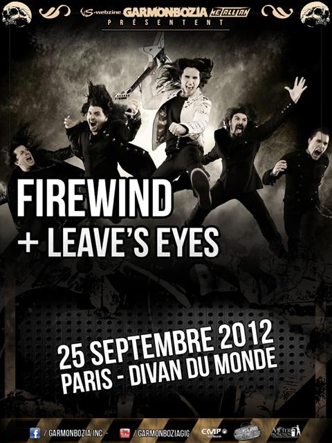 Firewind @ Paris